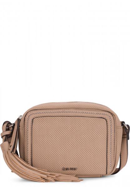 SURI FREY Handtasche mit Reißverschluss Romy Lony klein Braun 12200900 taupe 900