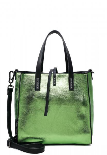 SURI FREY Shopper SURI Black Label Wendy mittel Grün 16070930 green 930