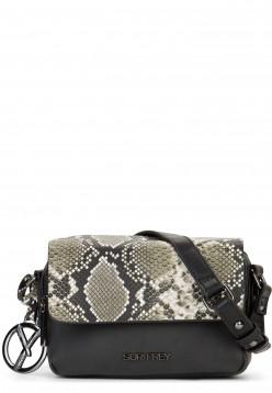 SURI FREY Handtasche mit Überschlag Claudy Schwarz 12082100 black 100