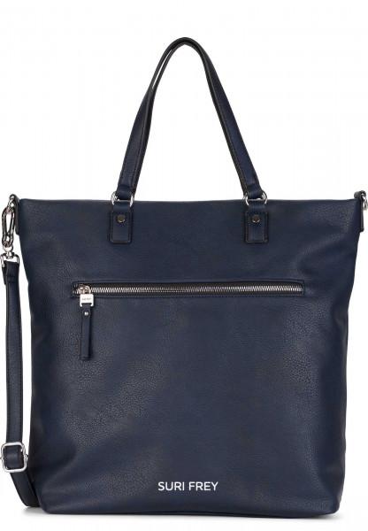 SURI FREY Shopper Terry groß Blau 12304500 blue 500