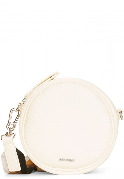 SURI FREY Handtasche mit Reißverschluss Bessy klein Grau 12380320 ecru 320