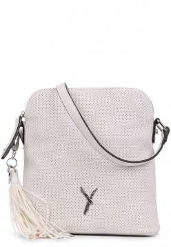 SURI FREY Handtasche mit Reißverschluss Romy mittel Grau 11580320 cement 320