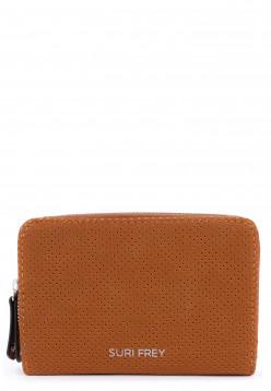 SURI FREY Geldbörse mit Reißverschluss Romy Hetty Braun 12192700 cognac 700