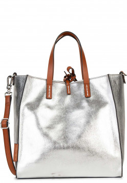 SURI FREY Shopper SURI Black Label Gracy mittel Silber 16031830 silver 830