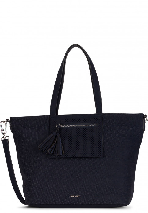 SURI FREY Shopper Romy Ailey groß Blau 12154500 blue 500