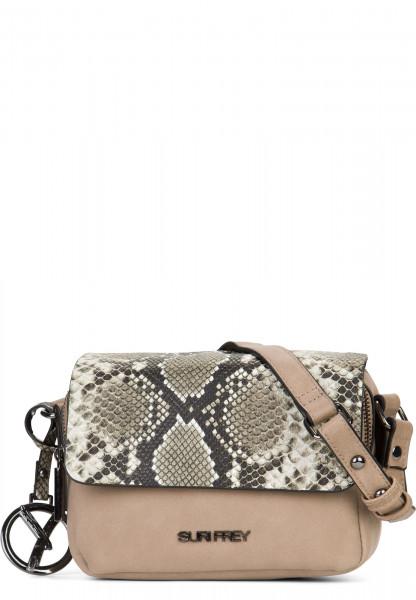 SURI FREY Handtasche mit Überschlag Claudy Beige 12082420 sand 420