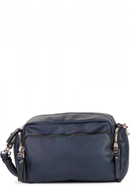 SURI FREY Handtasche mit Reißverschluss Terry groß Blau 12301500 blue 500