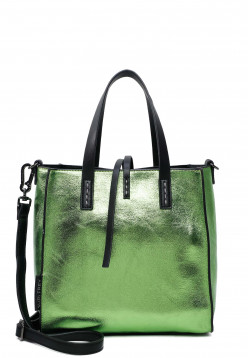 SURI FREY Shopper SURI Black Label Wendy mittel Grün 16070930 green 930