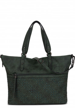 SURI FREY Shopper Silvy Grün 11953930 darkgreen 930