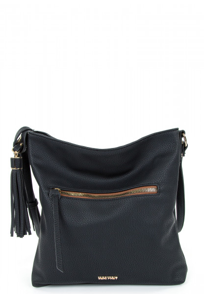 SURI FREY Handtasche mit Reißverschluss Netty mittel Special Edition Schwarz 12696100 black  100