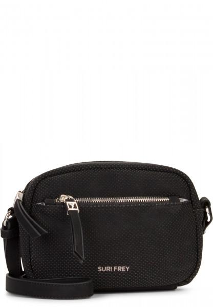 SURI FREY Handtasche mit Reißverschluss Romy Hetty Schwarz 12180100 black 100