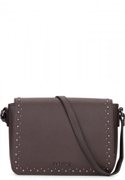 SURI FREY Handtasche mit Überschlag Karny Braun 12055200 brown 200