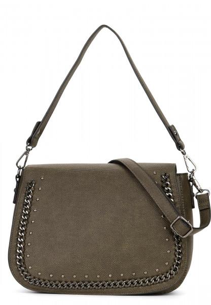 Handtasche mit Überschlag Dory