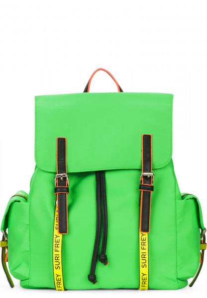 SURI FREY Rucksack SURI Black Label FIVE groß Grün 16004974 green/yellow 974